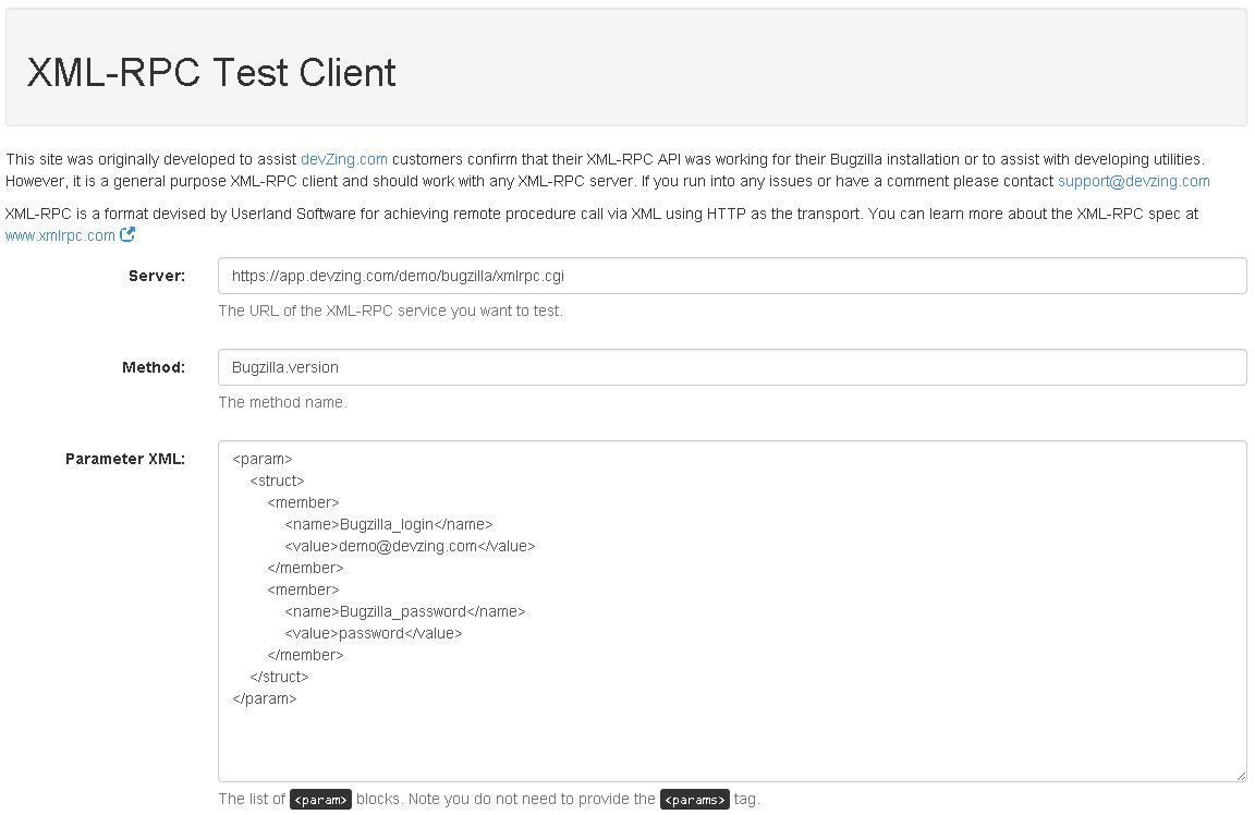XML-RPC Client – devZing BLog